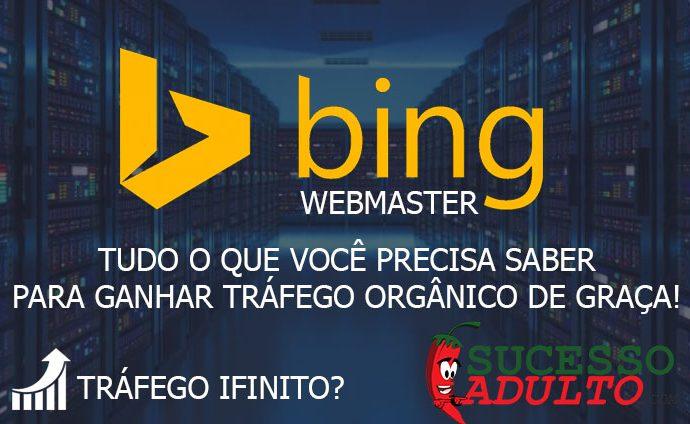 Tudo o que você precisa saber para ganhar visitas grátis com o Bing Webmasters Tools Criado à imagem do Google Search Console, o Bing Webmaster Tools tem o mesmo objetivo do concorrente: Indexar páginas de sites em seu diretório para os sites apareçam nos resultados de buscas. Antes de falarmos da ferramenta em si, temos que entender o que é o Bing. Assim como o Google, o Bing é uma ferramente de pesquisa, e é um dos maiores no seguimento, perdendo apenas para o gigante Google. Criado pela Microsoft, o Bing é um dos maiores buscadores da internet e é muito usado por muitas pessoas espalhadas pelo Brasil e pelo mundo. Assim como o Google, o Bing acabou criando o Bing Webmaster Tools, uma ferramente que disponibiliza status dos seus sites, como páginas indexadas por exemplo. Porém, como a maioria esmagadora das pessoas usa apenas o Google como buscador, muitos usuários não se dispõe a indexar seu site no Bing. Porém, adeptos dessa prática acabam perdendo visitas que podem influenciar no desenvolvimento e crescimento do seu site. Por esse motivo, ter o Bing de fora do seu site não é uma boa ideia não é mesmo? Afinal você estará perdendo tráfego orgânico para seu site. Do que o Bing Webmaster Tools dispõe? Painel: O painel funciona mostrando alguns dados resumidos dos seus sites, como por exemplo: Taxa de cliques, páginas indexadas, páginas com erros, etc. Dessa maneira você terá em vista o que precisará mudar para melhorar o desempenho do site. Lembrando que as informações mostradas são referentes a um único domínio, veja a imagem abaixo: Ferramentas de relatório: Com esses relatórios detalhados, você irá saber e entender o que levou as pessoas para o seu site (Palavras-chave pesquisadas). Assim, poderás ver onde deve ser melhorado para aumentar o tráfego orgânico de forma considerável. Sabendo que palavas os usuários pesquisaram no Bing para encontrar seu site, você poderá melhorar seus artigos e posts, melhorando os resultados e colocando seu site no topo. Ferramenta