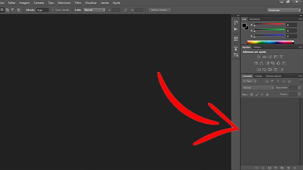 Como Criar Banners Para Site Adulto camadas do editor